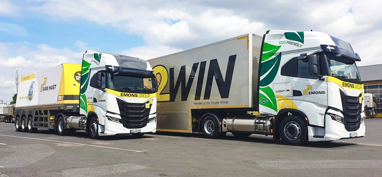 2win emons cargo trailers